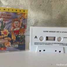 Videojuegos y Consolas: JUEGO SUPER WONDER BOY AMSTRAD . Lote 178347626