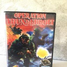 Videojuegos y Consolas: OPERATION THUNDERBOLT Y OPERATION WOLF AMSTRAD EN ESTUCHE . Lote 178347872