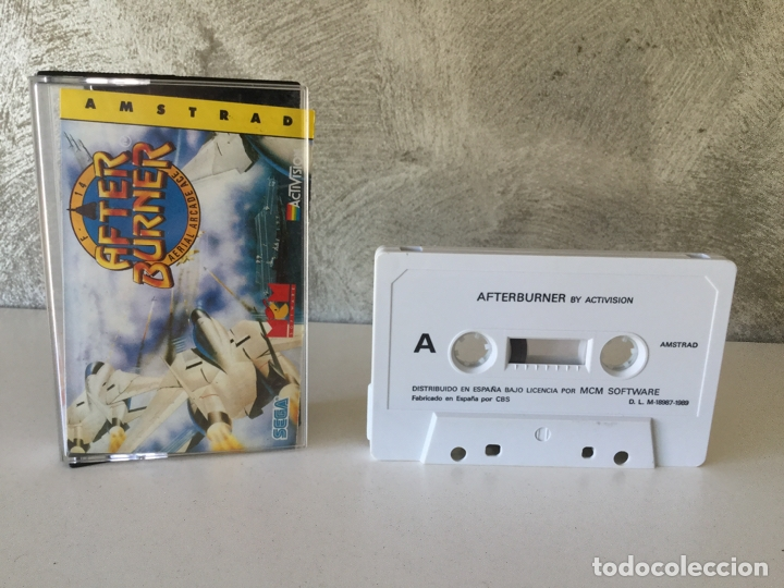 AFTER BURNER AMSTRAD (Juguetes - Videojuegos y Consolas - Amstrad)