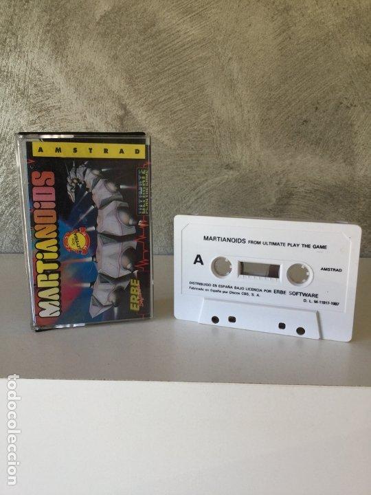 MARTIANOIDS ULTIMATE AMSTRAD (Juguetes - Videojuegos y Consolas - Amstrad)