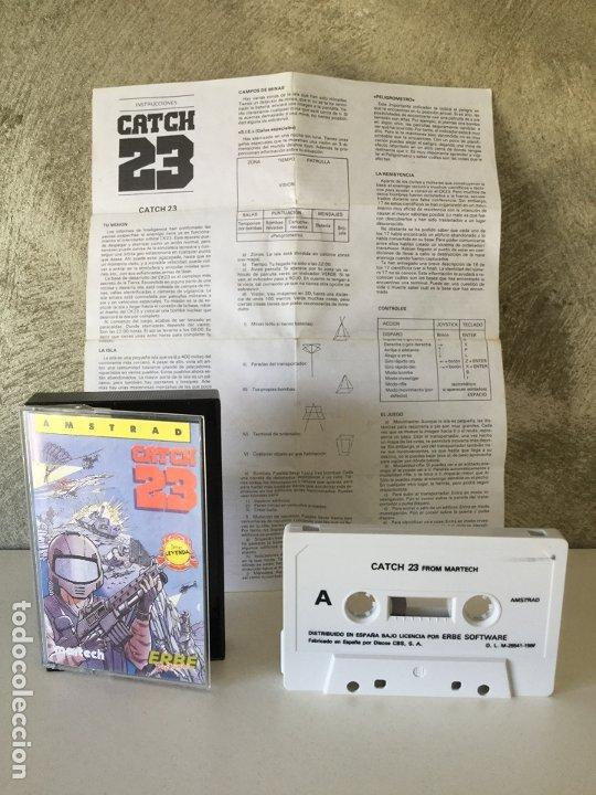 CATCH 23 AMSTRAD (Juguetes - Videojuegos y Consolas - Amstrad)