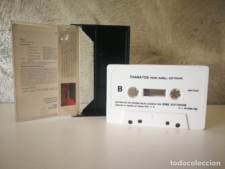 Videojuegos y Consolas: JUEGO THANATOS AMSTRAD - Foto 2 - 179071933