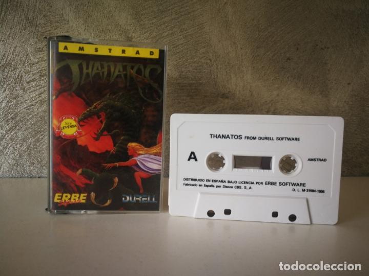 JUEGO THANATOS AMSTRAD (Juguetes - Videojuegos y Consolas - Amstrad)