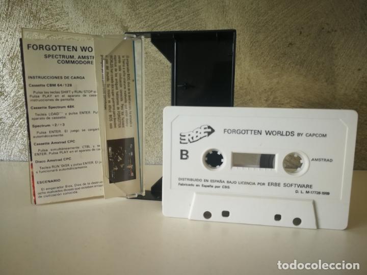Videojuegos y Consolas: JUEGO FORGOTTEN WORLDS AMSTRAD - Foto 2 - 179072367