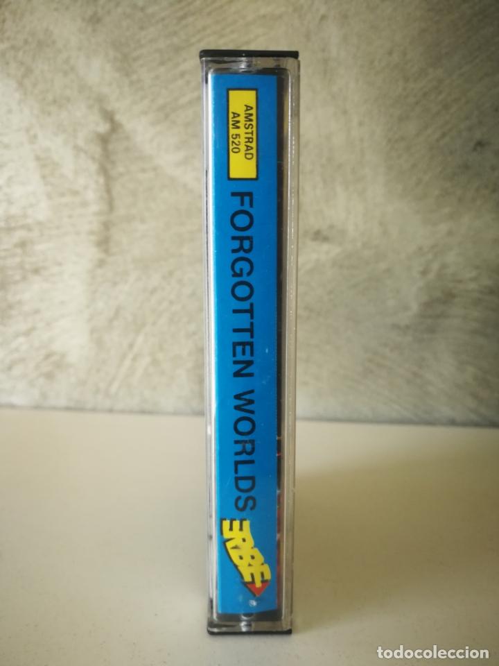 Videojuegos y Consolas: JUEGO FORGOTTEN WORLDS AMSTRAD - Foto 3 - 179072367