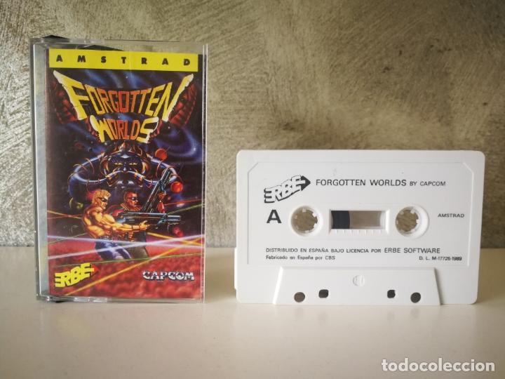 JUEGO FORGOTTEN WORLDS AMSTRAD (Juguetes - Videojuegos y Consolas - Amstrad)