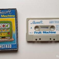 Videojuegos y Consolas: FRUIT MACHINE - AMSTRAD CASSETE - COMO NUEVO - AMSOFT. Lote 179123948