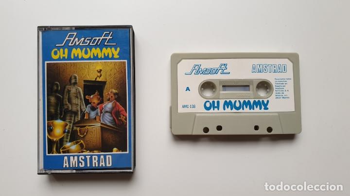 OH MUMMY - AMSTRAD CASSETE - COMO NUEVO - AMSOFT (Juguetes - Videojuegos y Consolas - Amstrad)