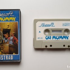 Videojuegos y Consolas: OH MUMMY - AMSTRAD CASSETE - COMO NUEVO - AMSOFT. Lote 179123952