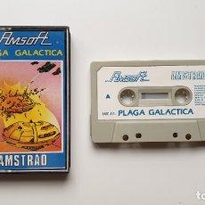 Videojuegos y Consolas: PLAGA GALÁCTICA - AMSTRAD CASSETE - COMO NUEVO - AMSOFT. Lote 179123953
