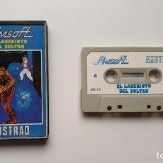 Videojuegos y Consolas: EL LABERINTO DEL SULTÁN - AMSTRAD CASSETE - COMO NUEVO - AMSOFT. Lote 179123957