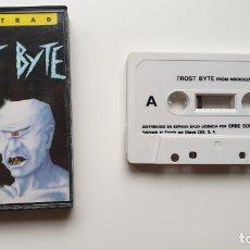 Videojuegos y Consolas: FROST BYTE - AMSTRAD CASSETE - COMO NUEVO - MICROGEN. Lote 179123962