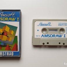 Videojuegos y Consolas: AMSDRAW I - AMSTRAD CASSETE - COMO NUEVO - AMSOFT. Lote 179123963