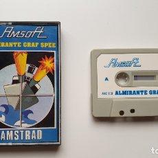 Videojuegos y Consolas: ALMIRANTE GRAF SPEE - AMSTRAD CASSETE - COMO NUEVO - AMSOFT. Lote 179123967