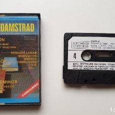 Videojuegos y Consolas: VIDEOAMSTRAD 4 - AMSTRAD CASSETE - COMO NUEVO - SOFTWARE EDITORES. Lote 179123968