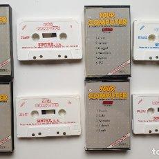 Videojuegos y Consolas: YOUR COMPUTER 1-4 - AMSTRAD CASSETE - COMO NUEVO - SINTAX. Lote 179123977