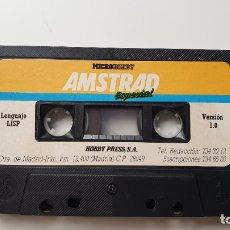 Videojuegos y Consolas: MICROHOBBY LISP - AMSTRAD CASSETE - COMO NUEVO - MICROHOBBY. Lote 179123983