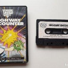 Videojuegos y Consolas: HIGHWAY ENCOUNTER - AMSTRAD CASSETE - COMO NUEVO - VORTEX. Lote 179123987
