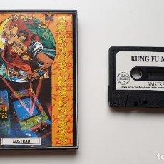 Videojuegos y Consolas: KUNG FU MASTER - AMSTRAD CASSETE - COMO NUEVO - U.S. GOLD. Lote 179123988