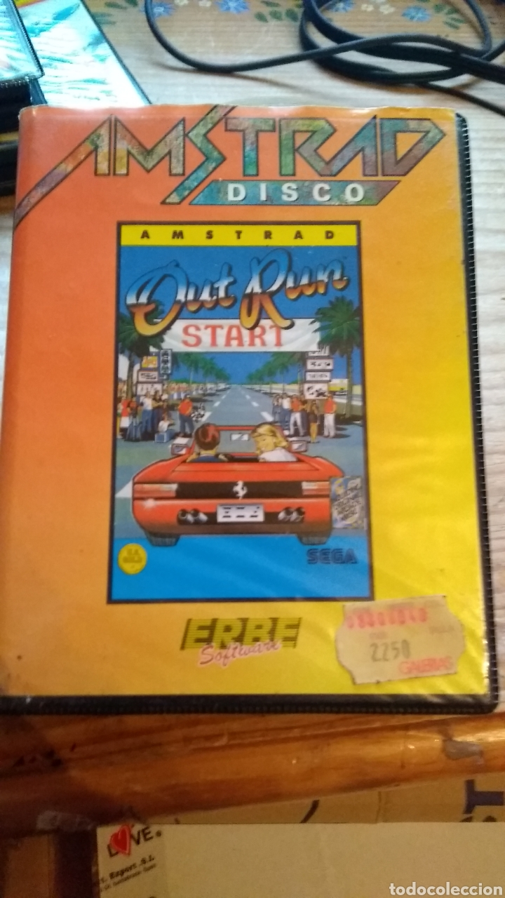 Videojuegos y Consolas: Out run AMStrad disco - Foto 1 - 179140993