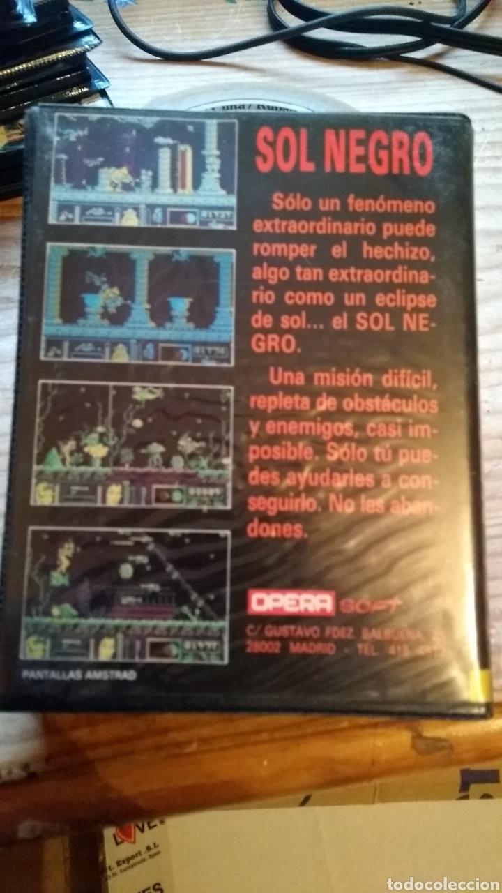 Videojuegos y Consolas: Sol negro amstrad disco - Foto 2 - 179141686