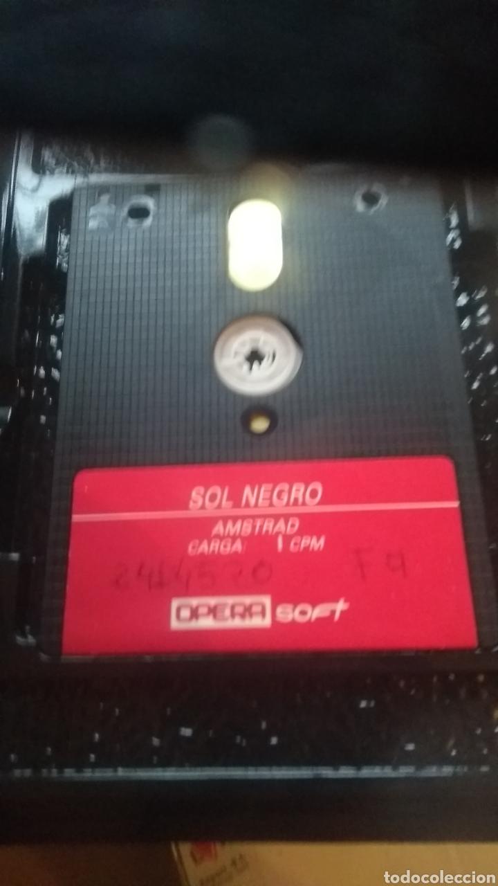 Videojuegos y Consolas: Sol negro amstrad disco - Foto 3 - 179141686