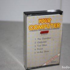 Videojuegos y Consolas: ANTIGUA CINTA CASSETE DE JUEGOS.. Lote 180217476