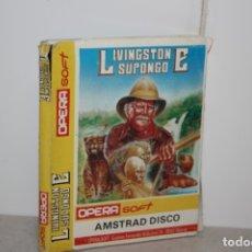 Videojuegos y Consolas: ANTIGUO JUEGO DE LIVINSGTONE SUPONGO.. Lote 180217667