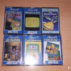 Videojuegos y Consolas: PACK DE 6 JUEGOS ORIGINALES. Lote 180416383