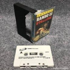 Videojuegos y Consolas: RAMBO III AMSTRAD CPC. Lote 180881378