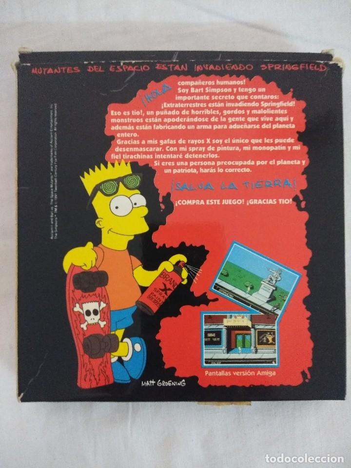 Videojuegos y Consolas: JUEGO AMSTRAD/THE SIMPSONS BART VS SPACE MUTANTS. - Foto 3 - 182298673