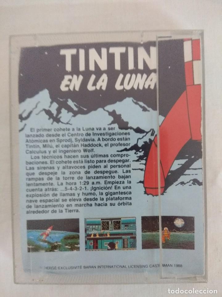 Videojuegos y Consolas: JUEGO AMSTRAD/TINTIN EN LA LUNA. - Foto 2 - 182300960