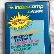 Videojuegos y Consolas: INDESCOMP AMSTRAD JUEGOS . Lote 182313603