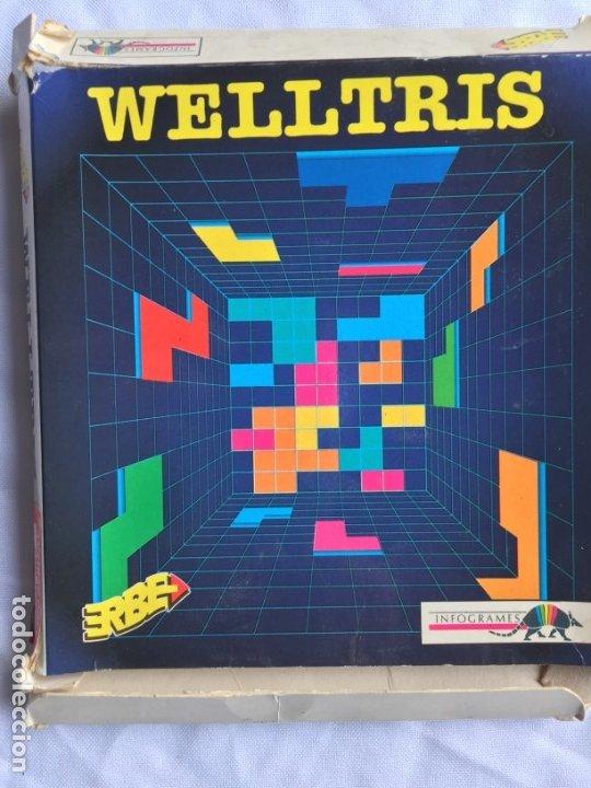 WELLTRIS, AMSTRAD DISCO, (Juguetes - Videojuegos y Consolas - Amstrad)