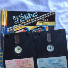 Videojuegos y Consolas: BEST OF ELITE VOL 1 Y 2 AMSTRAD DISCO. Lote 182369405