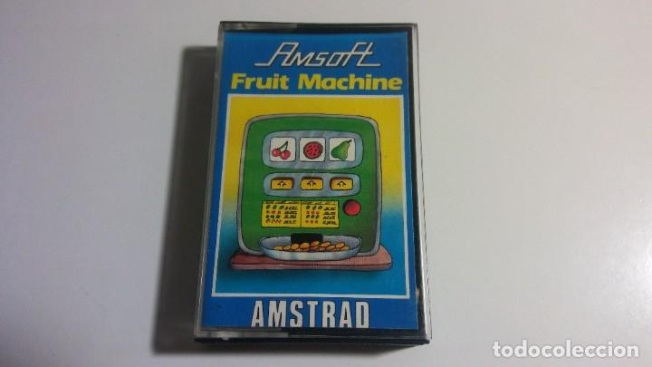 AMSTRAD. AMSOFT JUEGO: FRUIT MACHINE - AMSTRAD 1985 (Juguetes - Videojuegos y Consolas - Amstrad)