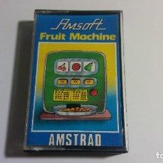 Videojuegos y Consolas: AMSTRAD. AMSOFT JUEGO: FRUIT MACHINE - AMSTRAD 1985. Lote 182525416