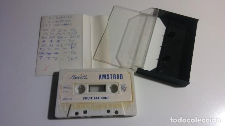 Videojuegos y Consolas: AMSTRAD. AMSOFT JUEGO: FRUIT MACHINE - AMSTRAD 1985 - Foto 2 - 182525416