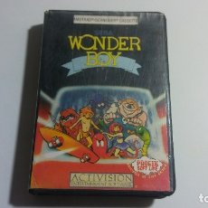 Videojuegos y Consolas: AMSTRAD. JUEGO CON ESTUCHE: WONDER BOY (ACTIVISION) - AÑO 1987. Lote 182531285