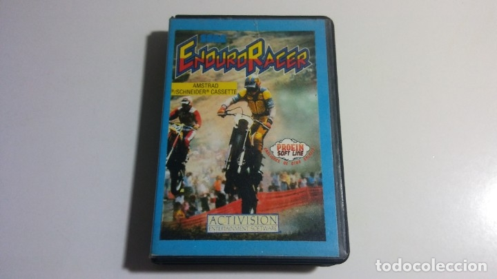 AMSTRAD. JUEGO CON ESTUCHE: ENDURO RACER (ACTIVISION) - AÑO 1987 (Juguetes - Videojuegos y Consolas - Amstrad)