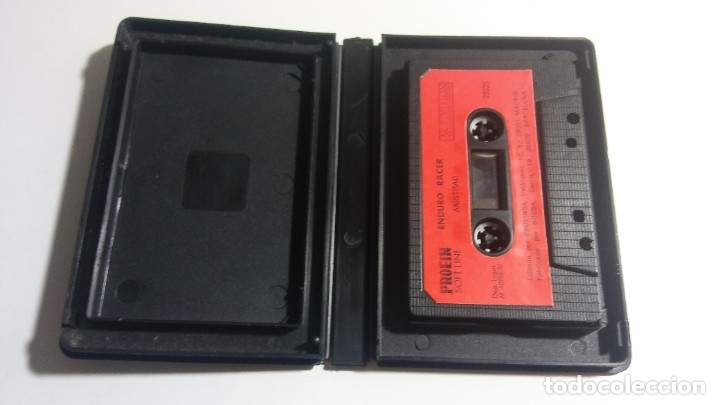 Videojuegos y Consolas: AMSTRAD. JUEGO CON ESTUCHE: ENDURO RACER (ACTIVISION) - AÑO 1987 - Foto 2 - 182531607