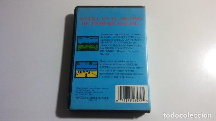 Videojuegos y Consolas: AMSTRAD. JUEGO CON ESTUCHE: ENDURO RACER (ACTIVISION) - AÑO 1987 - Foto 3 - 182531607