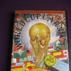 Videojogos e Consolas: WORLD CUP CARNIVAL - AMSTRAD - FIFA MUNDIAL FUTBOL MEXICO 86 - COMPLETO. Lote 182824681