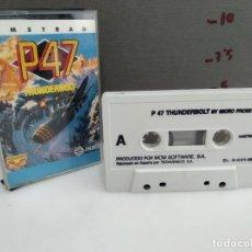 Videojuegos y Consolas: ANTIGUO JUEGO PARA AMSTRAD P 47. Lote 183253811