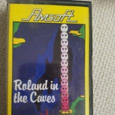 Videojuegos y Consolas: JUEGO AMSTRAD ROLAND IN THE CAVES. Lote 183275422