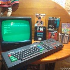 Videojuegos y Consolas: CONSOLA VIDEO JUEGO ORDINADOR AMSTRAD CPC 464 COLOUR 64K CON 12 JUEGOS. Lote 183359531