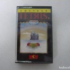Videojuegos y Consolas: TETRIS / AMSTRAD CPC 464 CASSETTE / VIDEOJUEGO RETRO VINTAGE. Lote 184791043