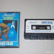 Videojuegos y Consolas: JUEGO AMSTRAD. EL LABERINTO DEL SULTAN. AMSOFT. Lote 186299176