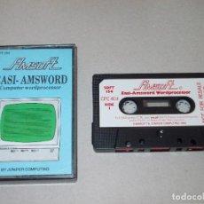 Videojuegos y Consolas: JUEGO AMSTRAD. EASI AMSWORD. PROCESADOR DE TEXTO. AMSOFT. VERSION INGLESA. Lote 186299835