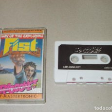 Videojuegos y Consolas: JUEGO AMSTRAD. THE WAY OF THE EXPLODING FIST. MASTERTRONIC / MELBOURNE. Lote 186300163